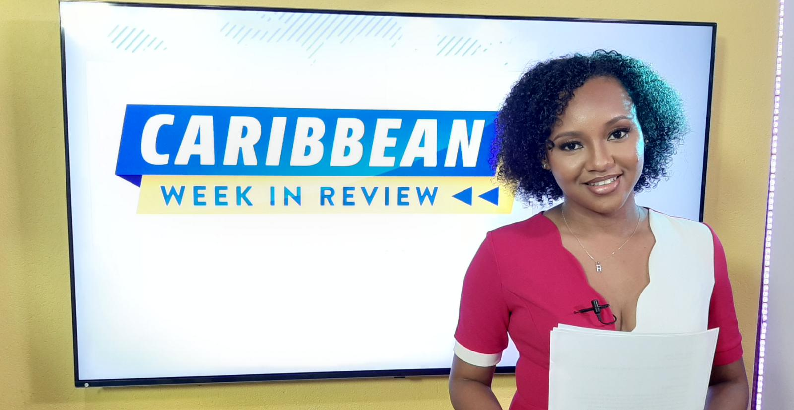 Caribbean Week in Review Joins One Caribbean Television
